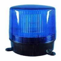LUZ ROTATIVA E FLASH LED 24V 0,5A AZUL DNI 4087 4082