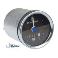 Horímetro Analógico Bi-Volt(12/24V) c/ LED  Aro Branco  Mostrador c/ traço 52mm -TRH800.004  Horímetro Analógico Bi-Volt(12/24V) c/ LED  Aro Branco  Mostrador c/ traço 52mm -TRH800.004